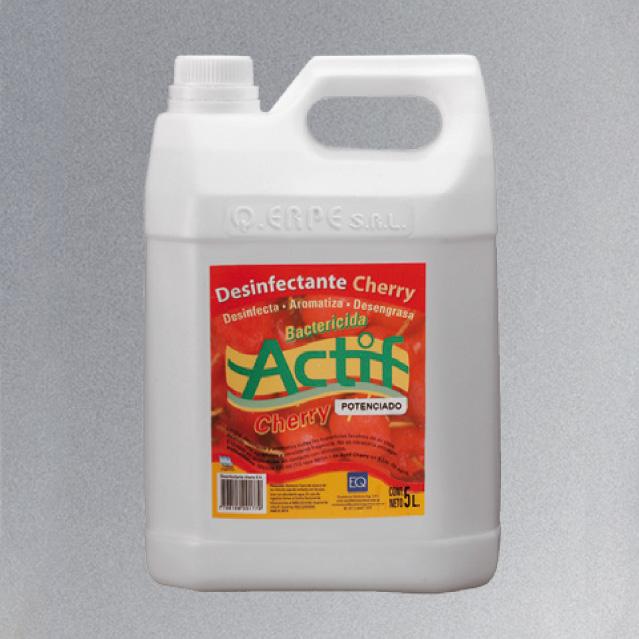 Desodorante __Actif__ Cherry 5 Lts