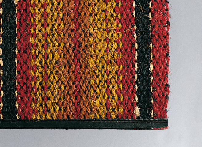 Felpudo Coco Multicolor 35x60 cm