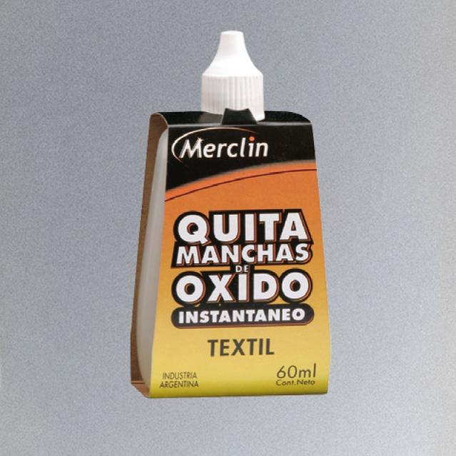 Quita Manchas de Oxido 60 ml.