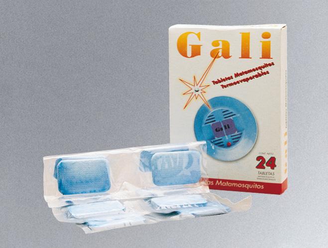 Tabletas Matamosquitos Gali